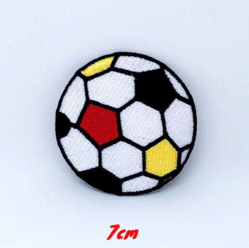 Football Colourful ball soccer Embroidered Iron on Sew on Patch #1340