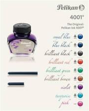 Pelikan 4001 Fountain Pen Bottled Ink 30ml Choose From 8 Vibrant Colors