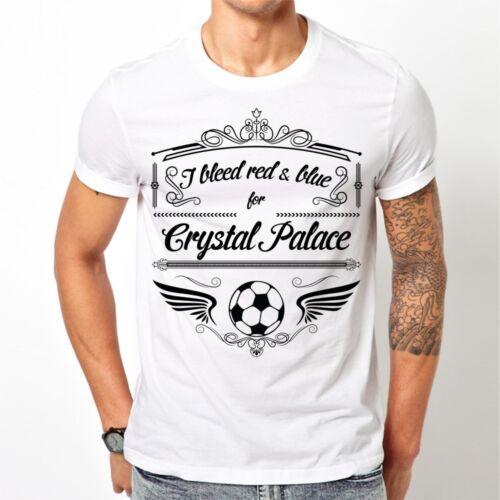 Angleterre Cadeau FOOTBALL Noël Championnat Crystal Palace Fan T-Shirt-SPORT