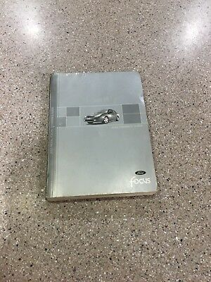 ford focus factory owners owners manual ebay
