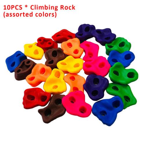 10pcs Grip Small Wall Stones Toys Climbing Rock Set  Assorted Kids