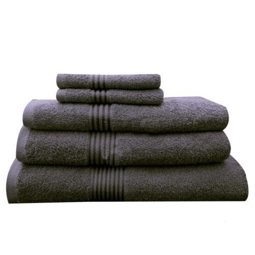 Egyptian Cotton Towel Set Bale Bath Sheet Hand 500 gsm Large Bathroom New Luxury