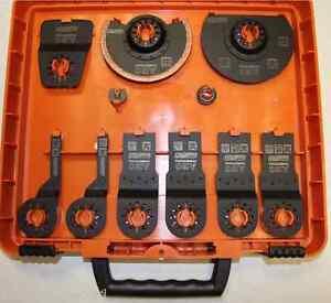 AEG-9-Pz-Set-Accessori-per-Multitool-Omnipro-Milwaukee-C12-MT-Bene-Bosch