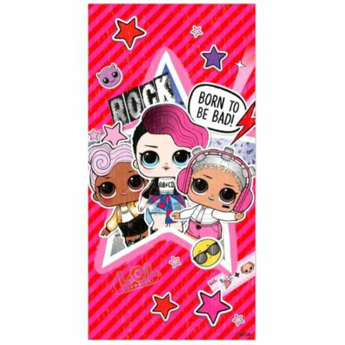 Official LOL L.O.L Surprise Rock Bath Beach Holiday Swim Quick Easy-Dry Towel