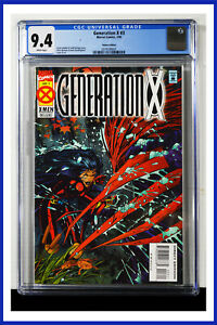 Generation-X-3-CGC-Graded-9-4-Marvel-January-1995-Deluxe-Edition-Comic-Book