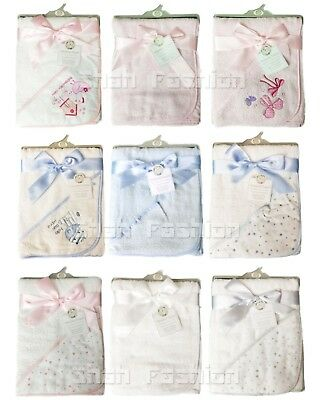 Baby Boys Girls Plain Soft Hooded Towels 100/% Cotton 120-104 Blue