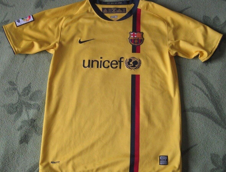 Camiseta  Shirt Trikot Barcelona Nike away 2008 2009 Season Iniesta Tall XL young  80% de descuento
