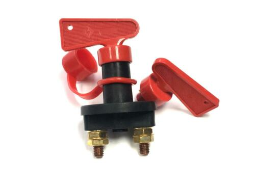 Car Van Lorry12V Battery Saver Isolator Key Master Shuts Live Current Switch