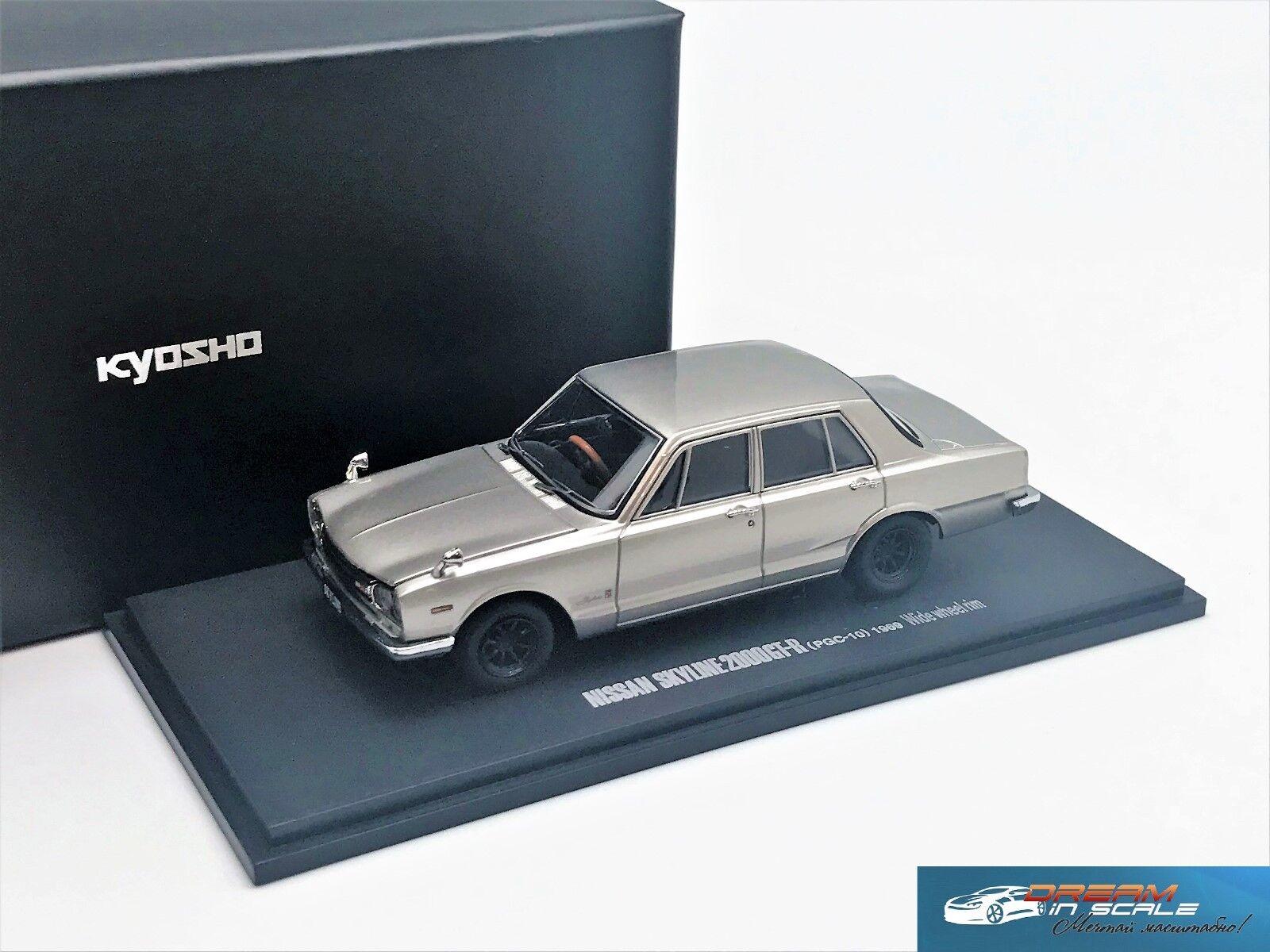 Nissan Skyline 2000GT-R PGC10 1969 KYOSHO 05511S 1 43