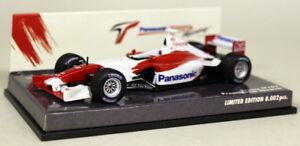 Minichamps-1-43-Scale-400-020174-Panasonic-Toyota-TF102-Showcar-Diecast-F1-Car