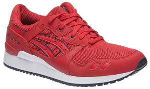 Asics-Gel-Lyte-III-Damen-Sneaker-Gr-36-37-Schuhe-Rot-Sportschuhe-neu
