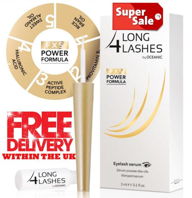f5610068f2c Oceanic Long4Lashes Fx5 Power Formula Eyelash Serum 3ml for sale online |  eBay