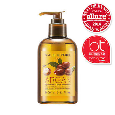 [Nature Republic] Argan Essential Deep Care Shampoo 300ml