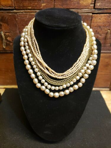 Vintage Miriam Haskell Jewelry Necklace