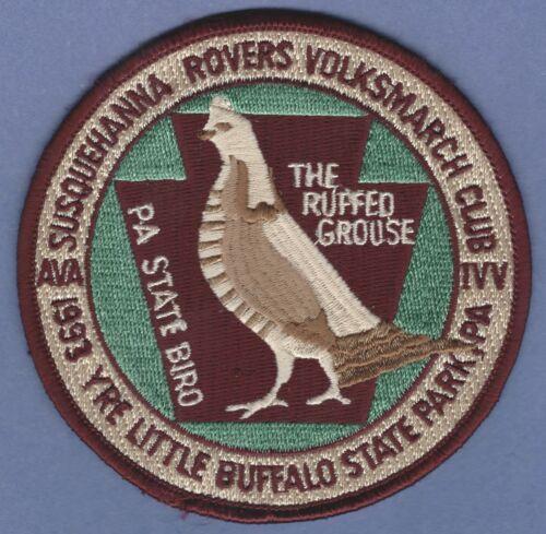 SUSQUEHANNA ROVERS VOLKSMARCH CLUB PENNSYLVANIA 1993 WILDLIFE HUNTING PATCH