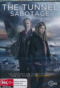 The-Tunnel-Sabotage-Series-Two-2-DVD-NEW-3-disc