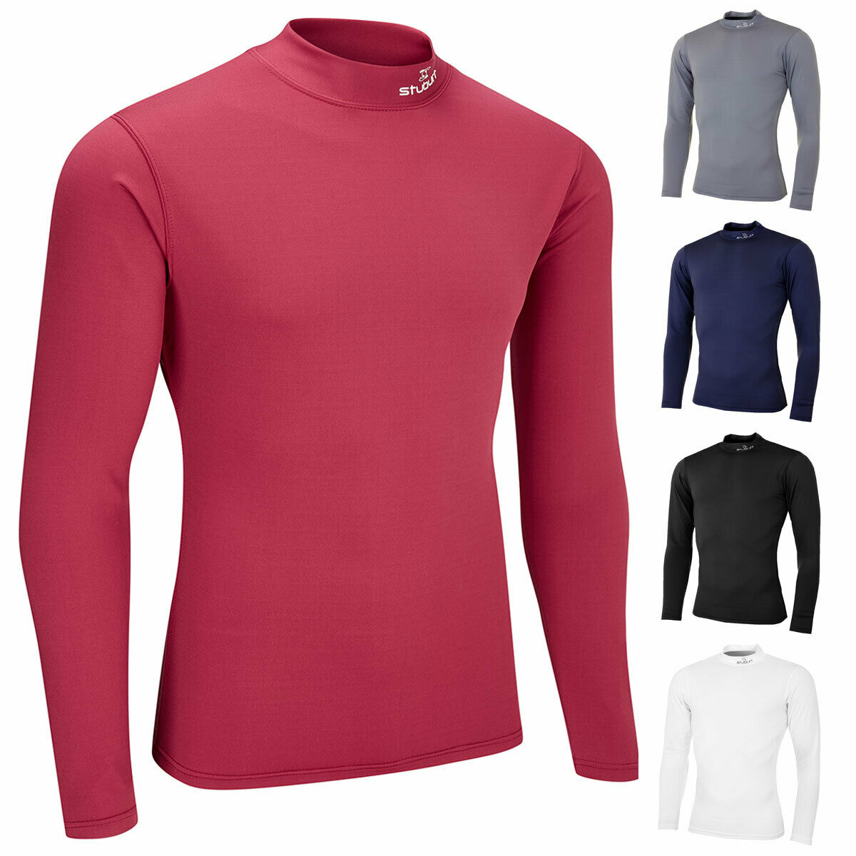 Stuburt Urban Compression Fit Thermal Base Layer Camisa Hombre