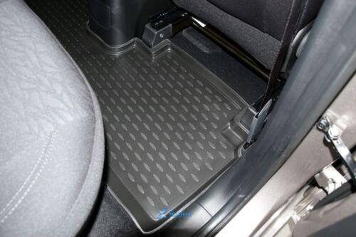 3D Gummifußmatten Gummimatten für Hyundai ix20 ab 2010 3-tlg Set