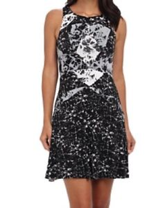 6888ffc6edd315 Image is loading Bailey-44-Geometric-Marble-Print-Sleeveless-Mini-Dress-