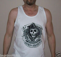 Soa Sons Of Anarchy Reaper Patch Men's Tank Top ( ) Soa88