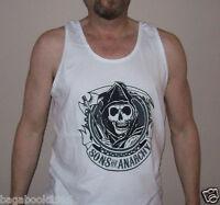 Soa Sons Of Anarchy Reaper Patch Men's Tank Top ( ) Soa88