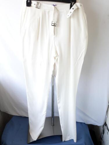 À Paris Simple Boucle Pantalon 36 Boucle Avec Sandro Blanc Taille C7tqt