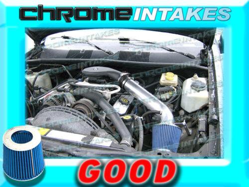 BLACK BLUE 93 94-98 JEEP GRAND CHEROKEE//LAREDO 5.2L 5.9L V8 AIR INTAKE KIT 2
