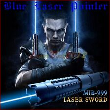 3WB820 450nm Adjustable Focus Blue Laser Pointer Burn Matches Light Cigarettes