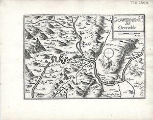 Antique-maps-Gouvernement-de-Grenoble