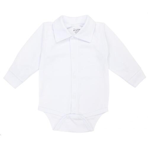 Jungen Hemd-Body Baby Body Taufbody Babybody mit Kragen Festliche Babymode