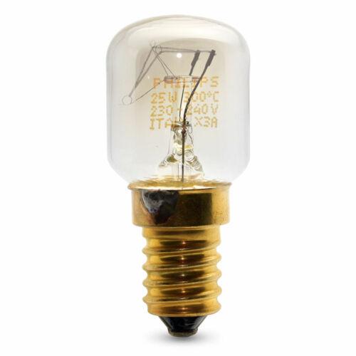Philips 25w Oven Lamp E14 SES Small Edison Screw Cooker Bulb 300° Tolerant