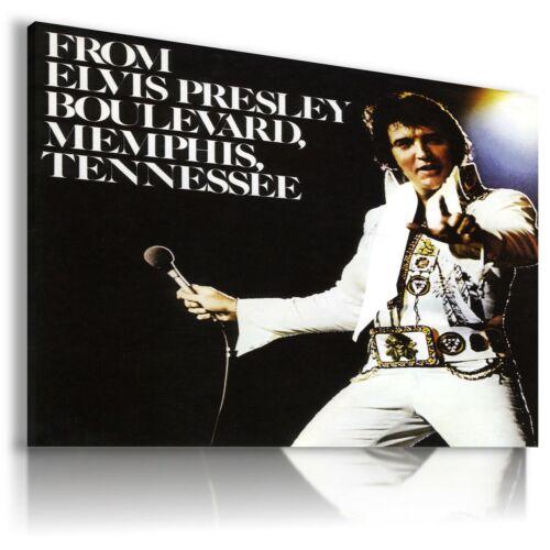 ELVIS PRESLEY  The King Of Rock /& Roll Canvas Wall Art EP34 MATAGA NO FRAME