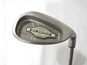Used-RH-Callaway-Big-Bertha-X12-Sand-Wedge-Stiff-Flex-Steel-Shaft-used-rh