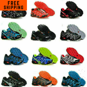Hiking Shoes Salomon SpeedCross3 Men And Women Athletic Hiking Shoes