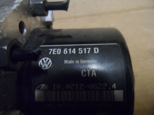 VW T5 ABS ESP Steuerteil Pumpe 7E0907379H 7E0614517D