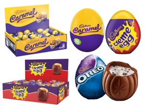 Cadbury Creme- Caramel & New Oreo Creme Egg Milk Chocolate Easter Gift UK Stock TLjzN5ED-09153349-236799002