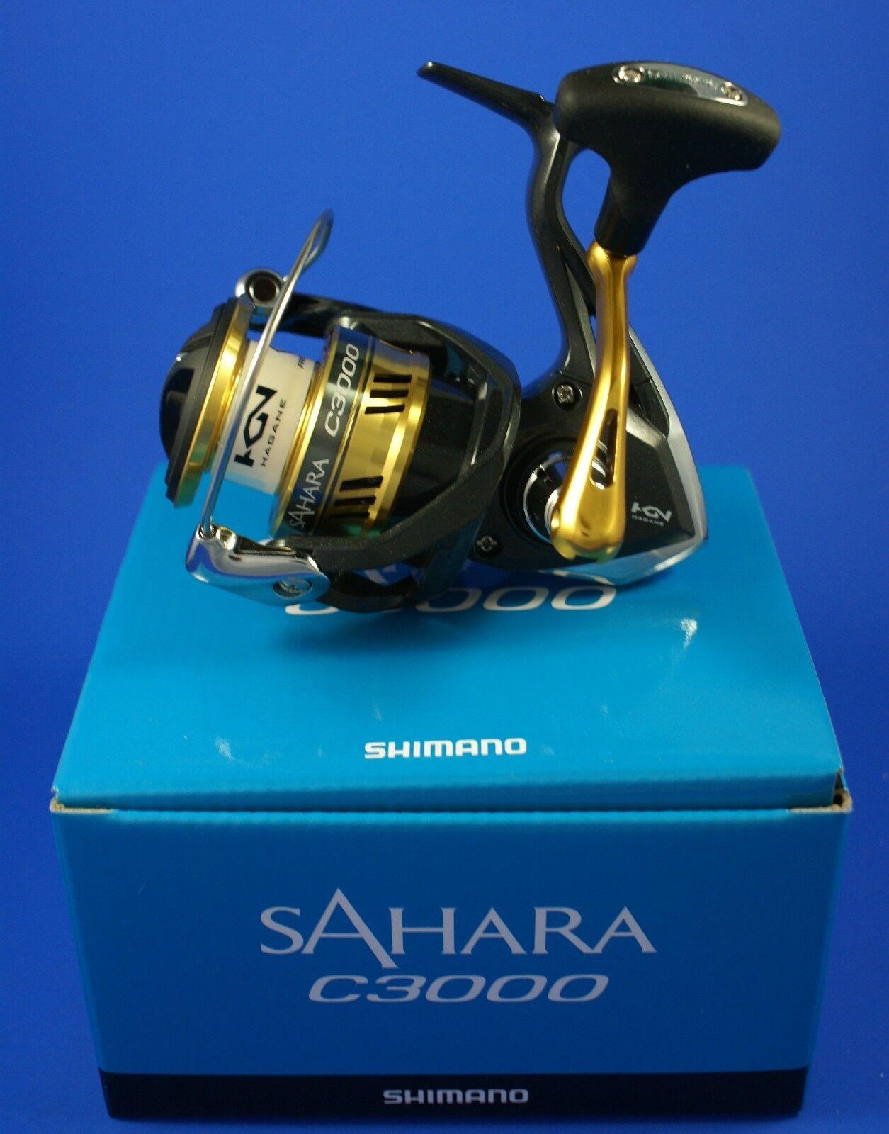 Shimano SAHARA C3000 FI  SHC3000FI  mulinello da pesca trascinamento frontale