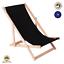 miniatura 15 - Silla tumbona tumbona de playa tumbona para tomar el sol tumbona de jardín tumbona de madera plegable tumbona relax