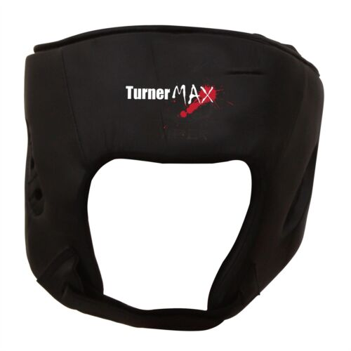TurnerMAX cuir boxe chef Garde Casque de protection du visage
