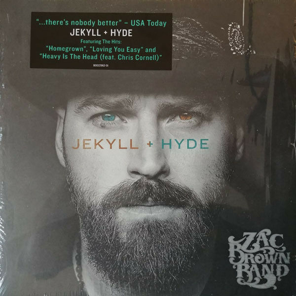 Zac Brown Band Jekyll Amp Hyde Vinyl 2xlp New Sealed