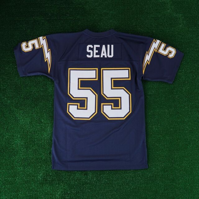 Junior Seau 94 Mitchell & Ness Authentic Throwback Jersey Small 36 Chargers