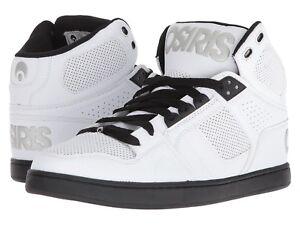 Osiris Skateboard Shoes NYC 83 CLK Black//Red//Silver
