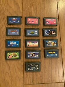 Lot-Of-13-GameBoy-Advance-Games-Nintendo-GameBoy-Advance-GBA