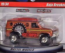Hot Wheels Baja Breaker Mickey Thompson Slick Rides W/MT RRs Metal/Metal VHTF