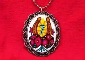 Lucky casino necklace