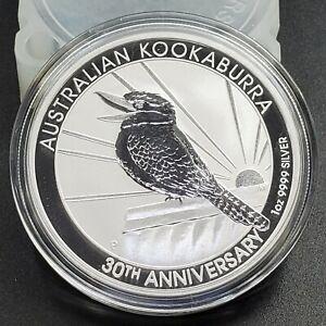 2020-1-oz-Australian-Kookaburra-Silver-Proof-Uncirculated-9999-30th-Anniversary