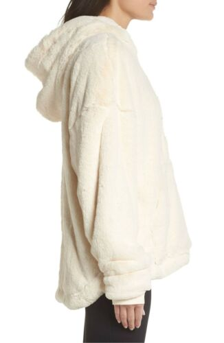 NWT Free People Movement Off the Record Soft Fleece Hoodie Retail $168