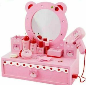 Wooden-Beauty-Playset-with-Mirror-Role-Play-Toys-for-Girls-with-13-accessories