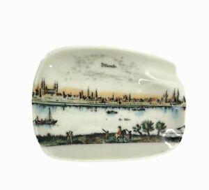 Vtg Porzellan Bavaria Ashtray Plankenfels Germany Sbormbs Der Rhein Porcelain