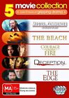 Master And Commander / The Beach / Courage Under Fire / Deception / The Edge (DVD, 2010, 5-Disc Set)